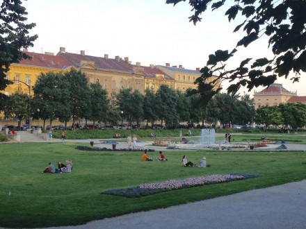 Unhurried pace of life in Zagreb (Photo Philadelphia Traveling Mom Sarah Ricks)