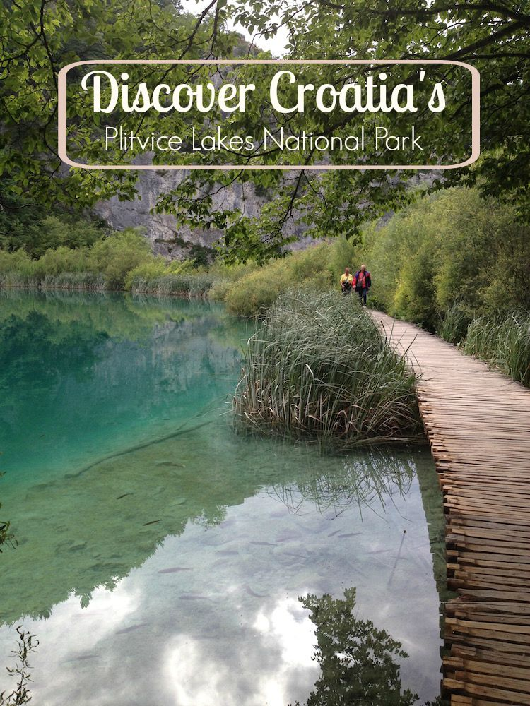 Walk along crystalline green water, see waterfalls, and enjoy hiking in Croatia's biggest national park. (Photo Philadelphia Traveling Mom Sarah Ricks)