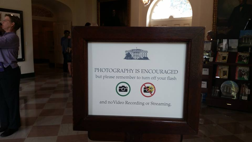 Say Cheese: Photo Ban Lifted for White House Tours