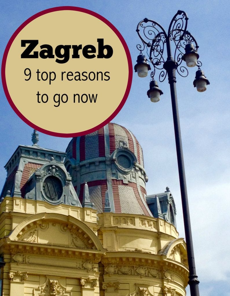 Zagreb, Croatia may not be on your list. Here's why it will win you over. (Photo Philadelphia Traveling Mom Sarah Ricks)