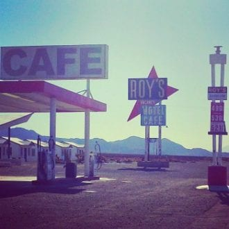 Iconic Hollywood location, Roy's Motel, along Route 66