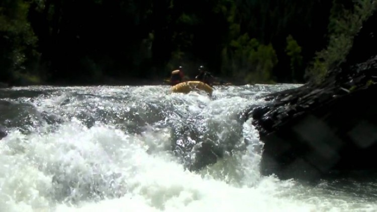Slaughterhouse Falls in a Mini Me with Kiwi Adventure Ko. in Aspen, CO!