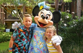 Character Breakfast at Aulani