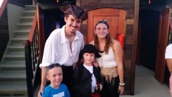 the Pensacola Pirate Ship is a great family activity