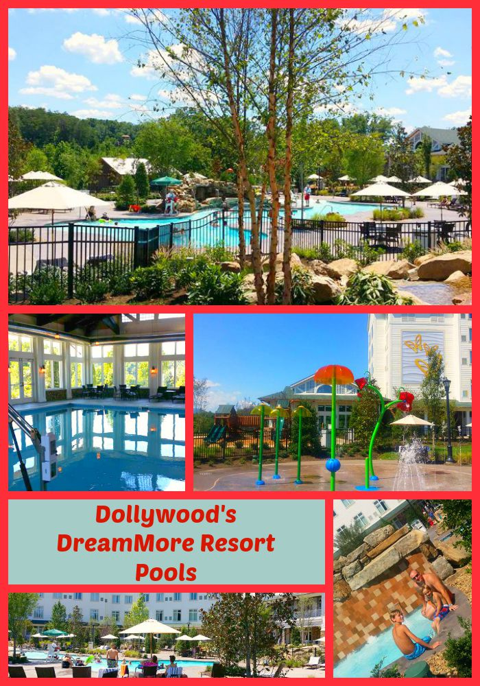 Dollywood's DreamMore Resort Pools, Photo Courtesy of Teronya Holmes