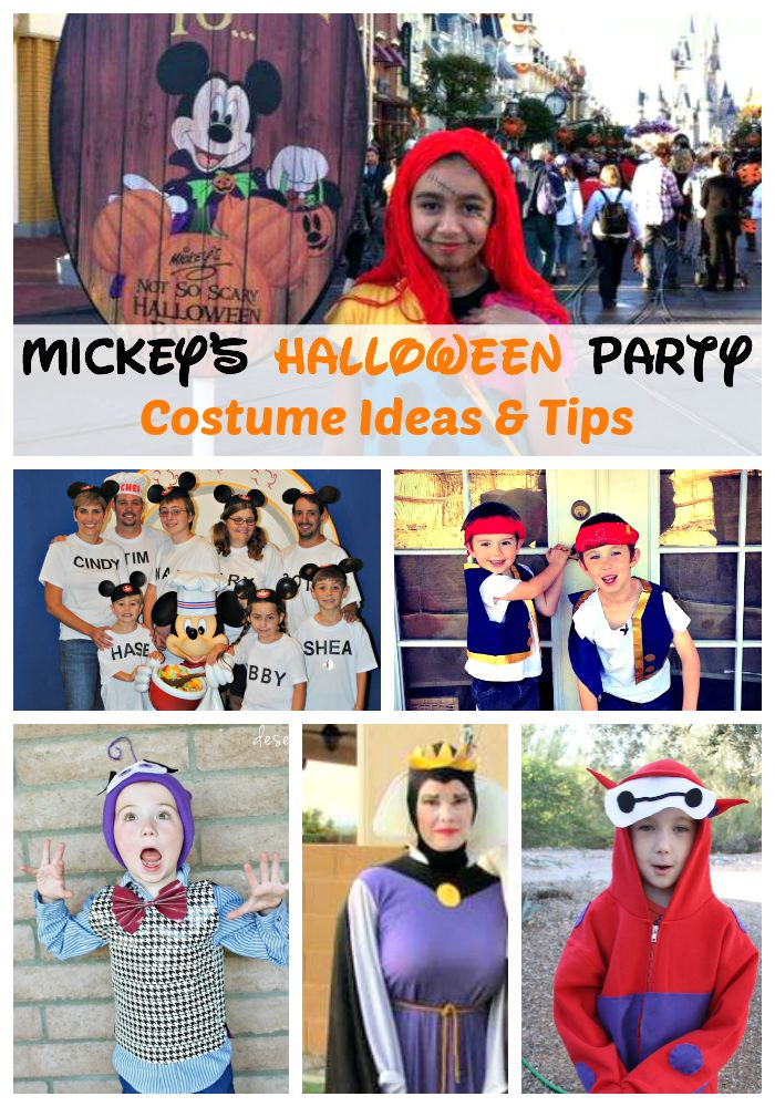 Disney Halloween Costume Ideas.Mickey S Halloween Party Costume Ideas And Tips Traveling Mom