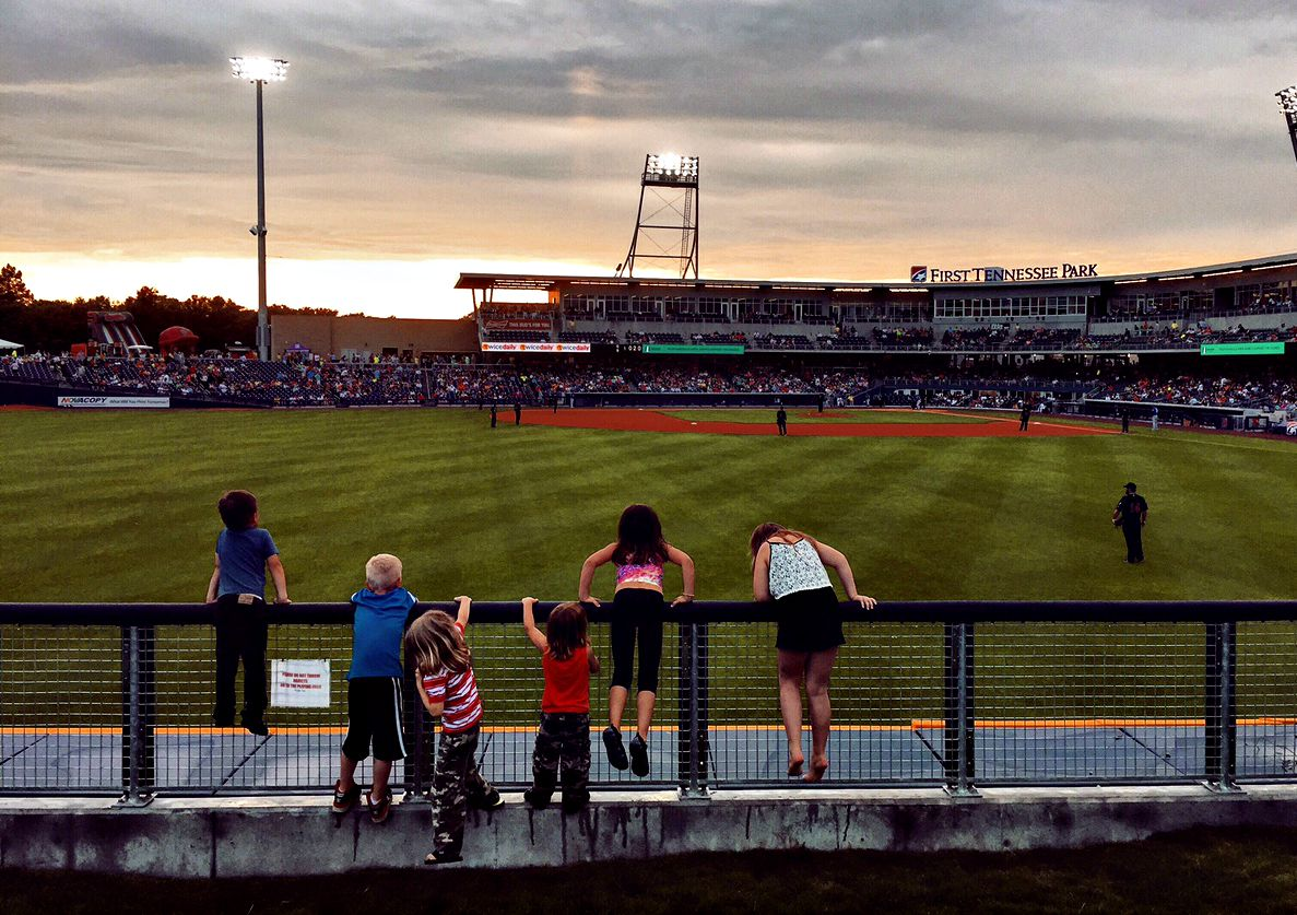 Nashville sounds game view from the berm photo by samantha nelson