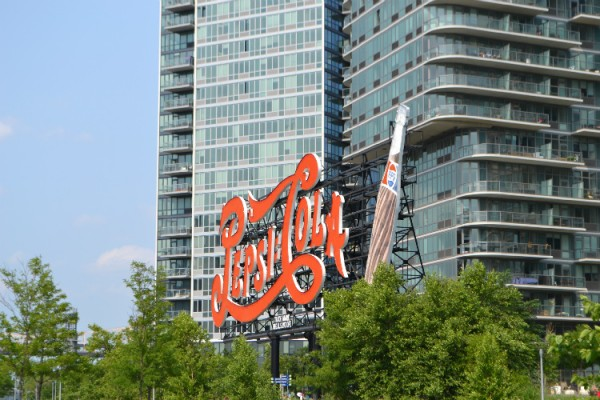 Iconic Pepsi Sign, Photo by Terri Marshall