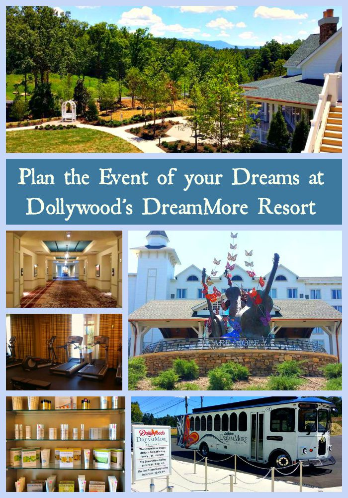 Dollywood's DreamMore Resort has many opportunities for the event of your dreams! Photo Courtesy of Teronya Holmes
