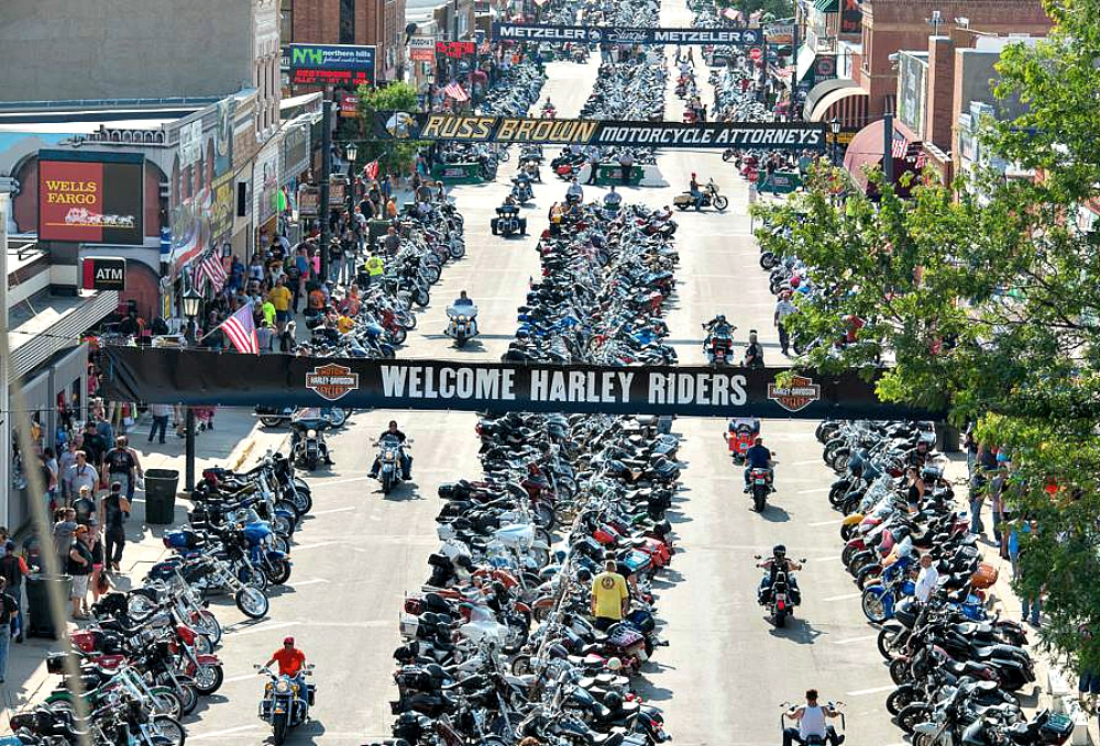 Sturgis SD Motorcycle Rally