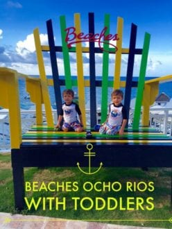 Beaches Ocho Rios with toddlers