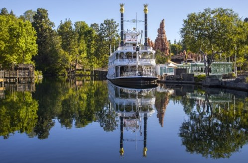 All attractions along Rivers of America will close beginning January 10. Photo credit: Disneyland Resort.