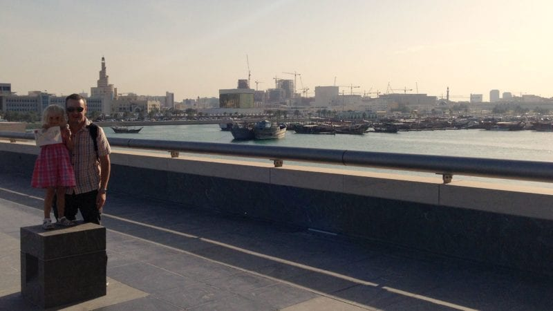 Check out the Dhow Harbour in Doha