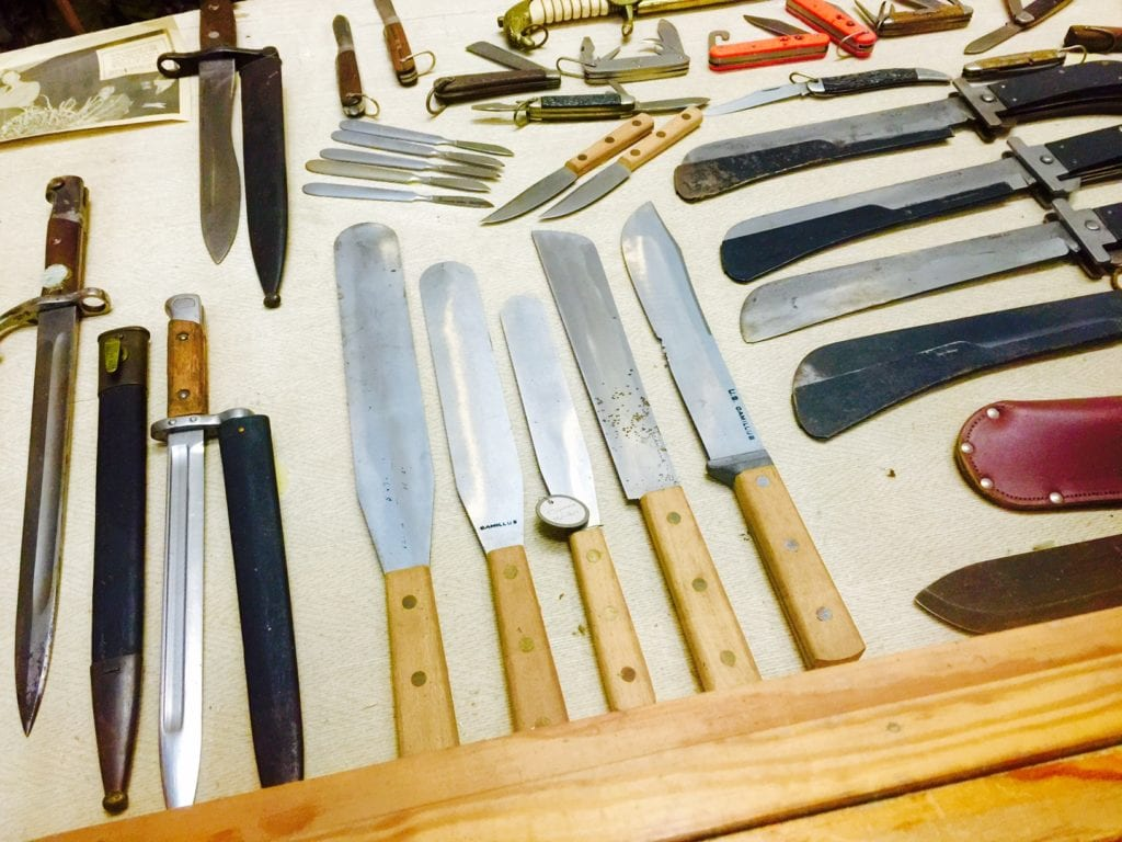 Find a million more knives in Smoky Mountain Knife Works. Photo by G. W. Tibbetts