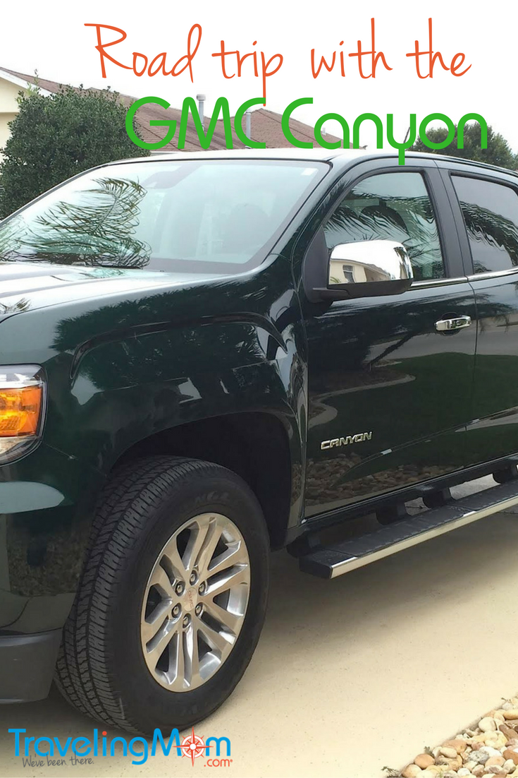 See how a GMC Canyon helped make a road trip to Miami, Florida with a grown son a success.