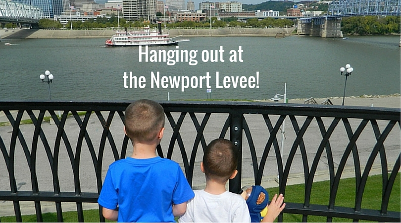 Hanging out at the Newport Levee, in Newport Kentucky!