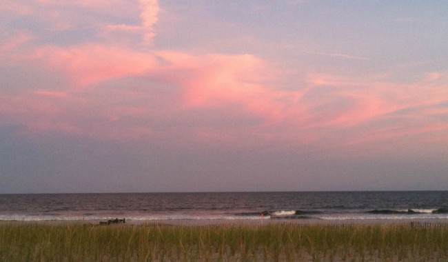 The beach may be vacant, but there's still plenty of reasons to travel during the shoulder season. Let's talk about it at the next #TMOM Twitter party. Photo by Mary Lebeau, EastCoast TMOM