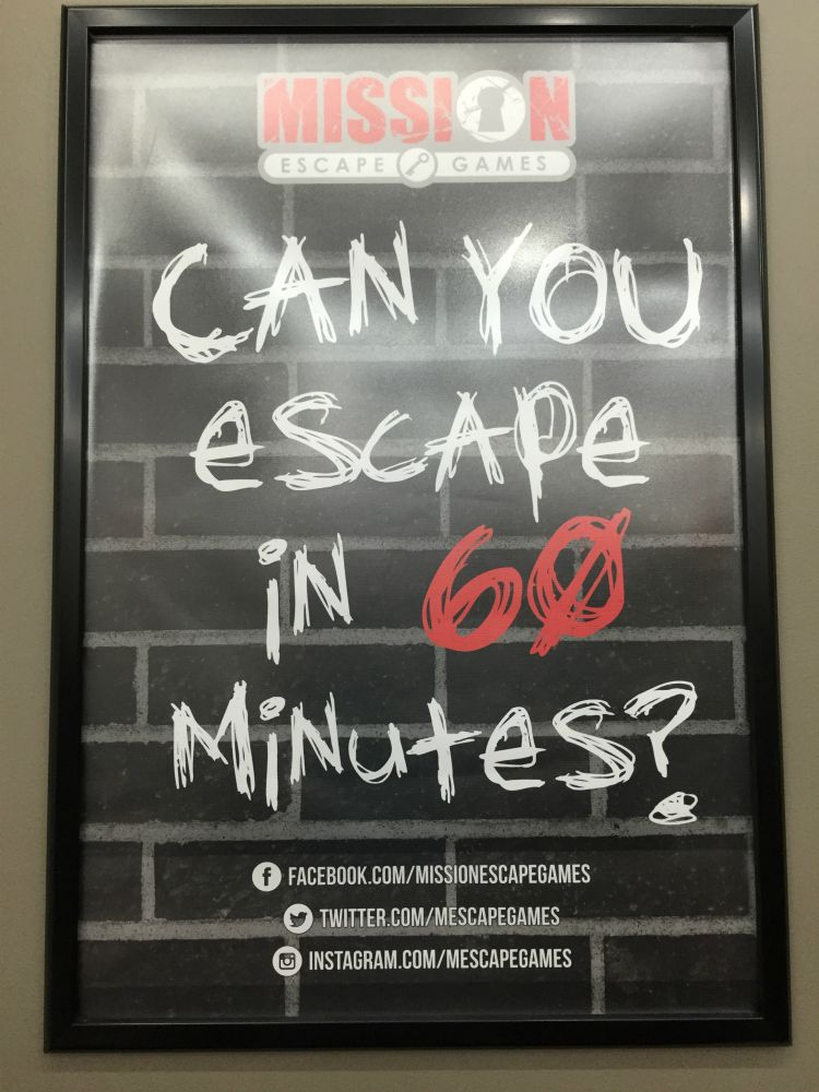 Escape the Room NYC poster