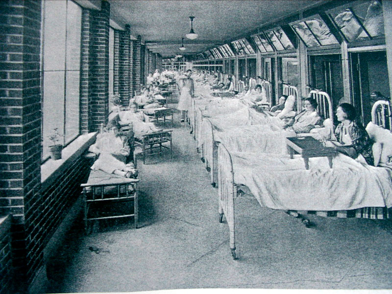 Waverly Hills as a TB hospital. Photo Courtesy: Waverly Hills