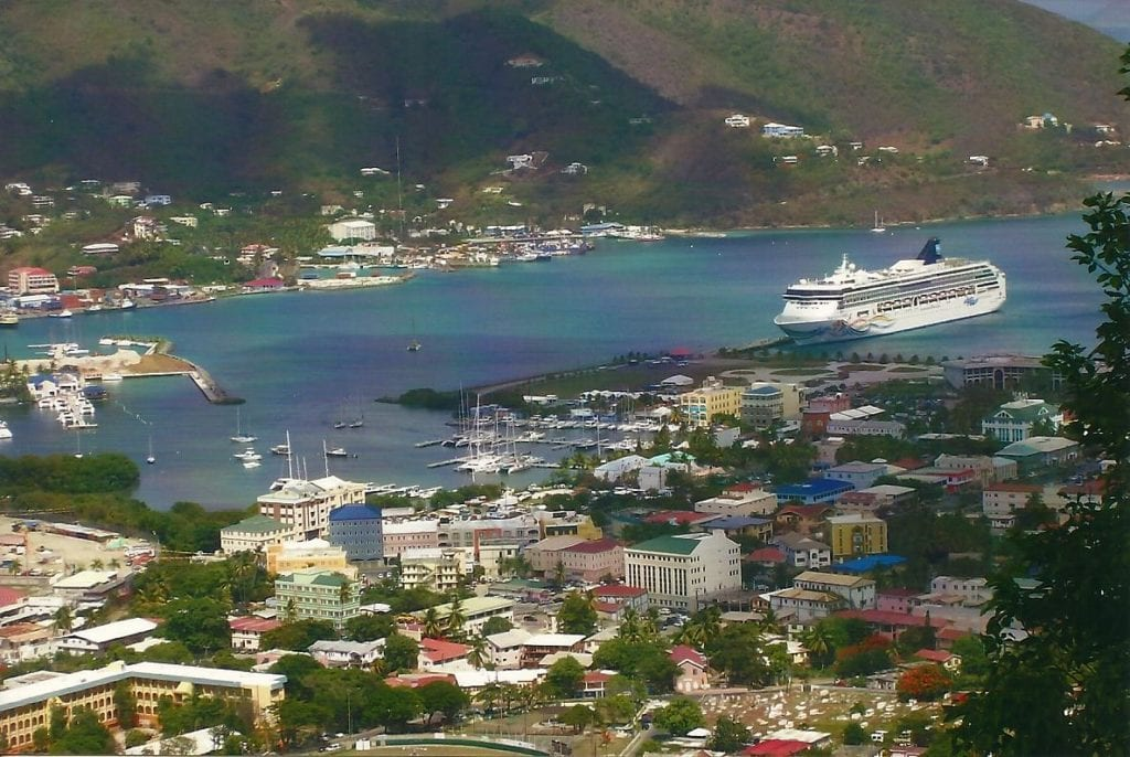 Tortola is a beautiful island we were luck to visit on our Spirit cruise. Photo credit: Noel D'Allacco