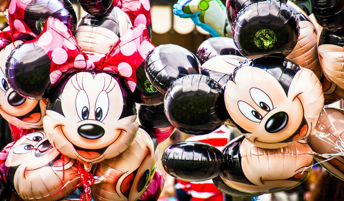 Disney Parks Minnie Mouse and Mickey Mouse