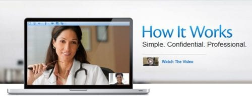 How Amwell Telehealth service works great if a family member gets sick while traveling