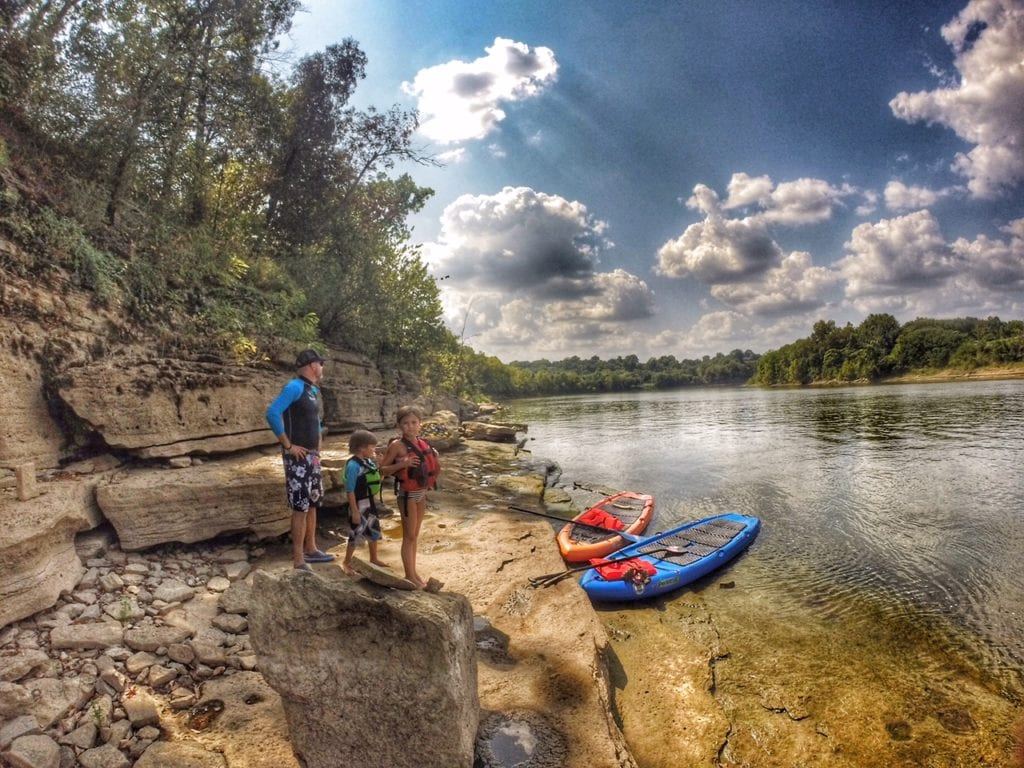 Take a paddle break on a SUP adventure in Nashville.