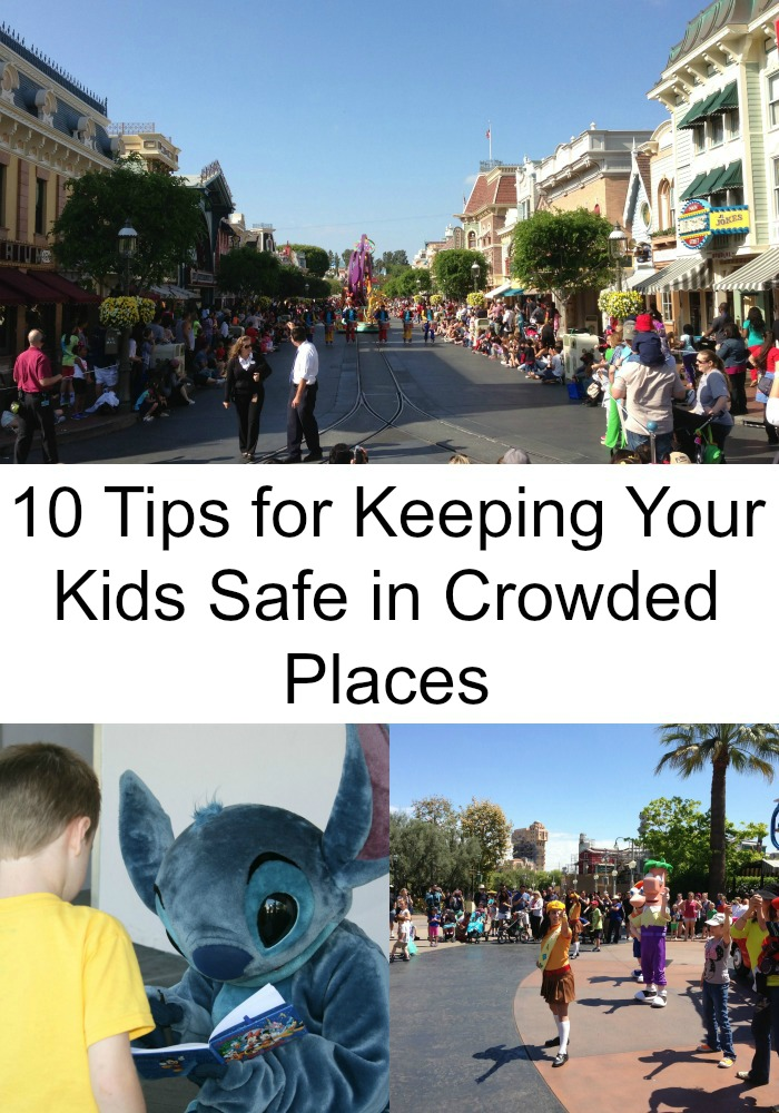 10 Tips for Keeping Your Kids Safe in Crowded Places
