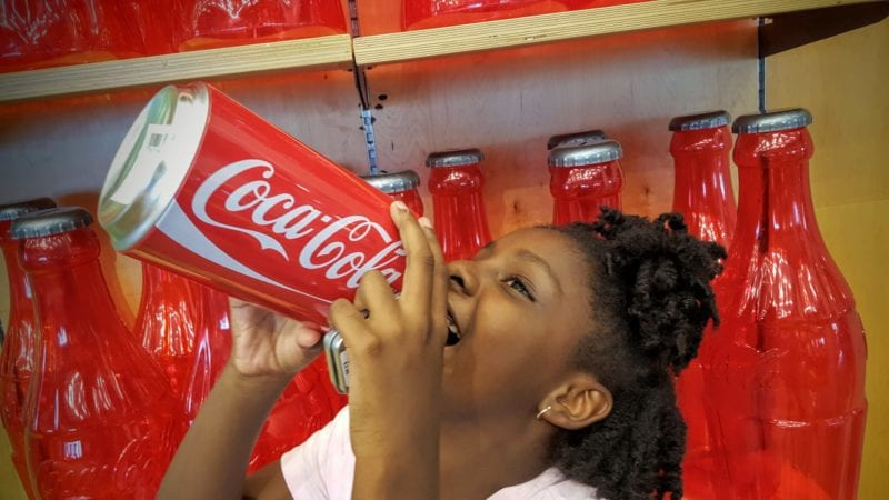 Fall family deals at the World of Coca-Cola.