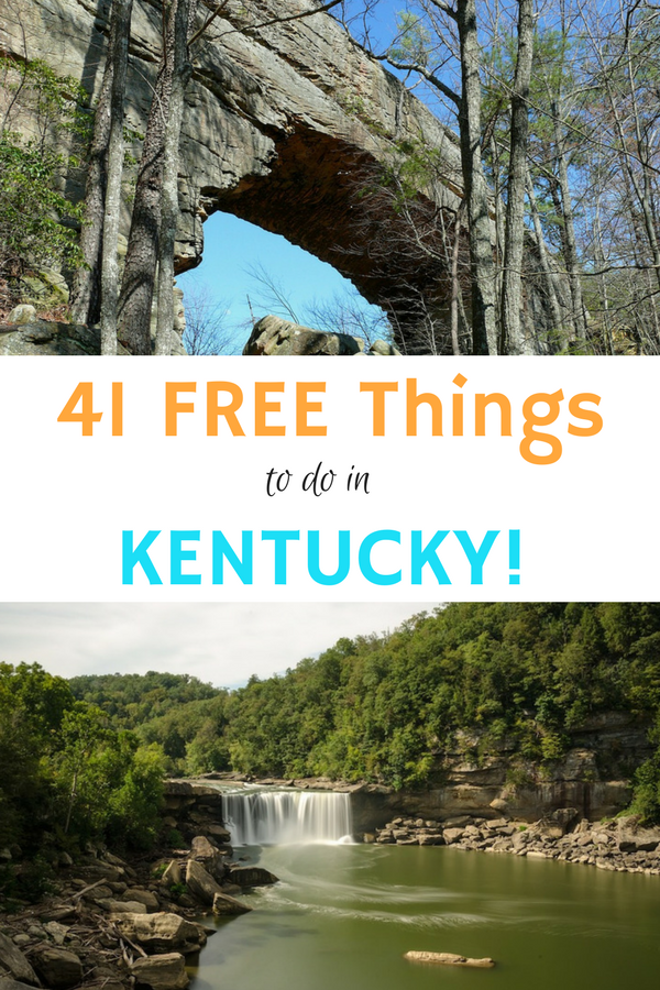 If you are looking for Free Fun in Kentucky look no further than our list of 41 free things to do in Kentucky!