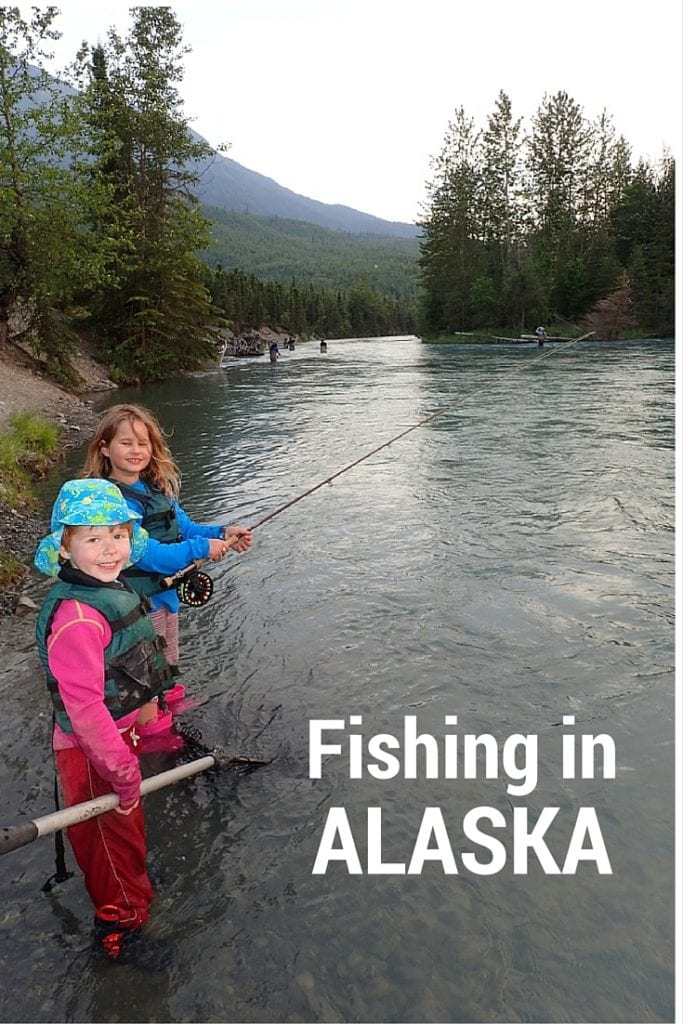 Salmon fishing in Alaska. Photo credit: Heather McLaughlin / 7 Continents TravelingMom