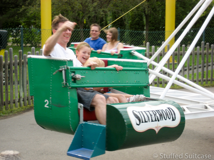 Smile with your kids while playing at Silverwood Theme Park in Coeur d'Alene Idaho