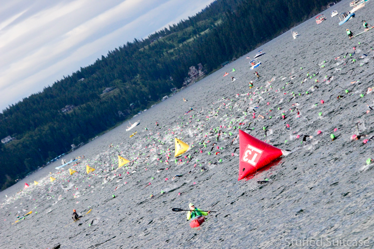 IRONMAN Coeur d'Alene is an endurance race that comes to the city twice a year.
