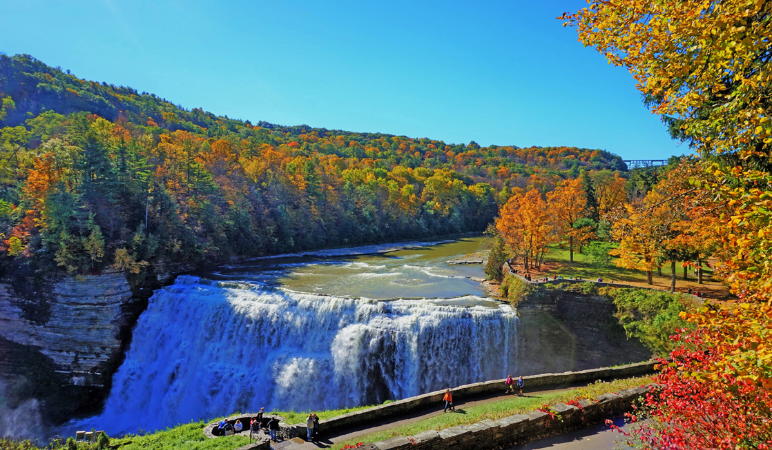 Fall Splendor At Letchworth State Park No 1 State Park