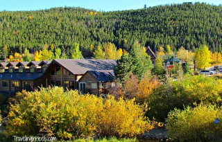 Fall colors in Colorado, the Peak to Peak Highway near town of Nederland.