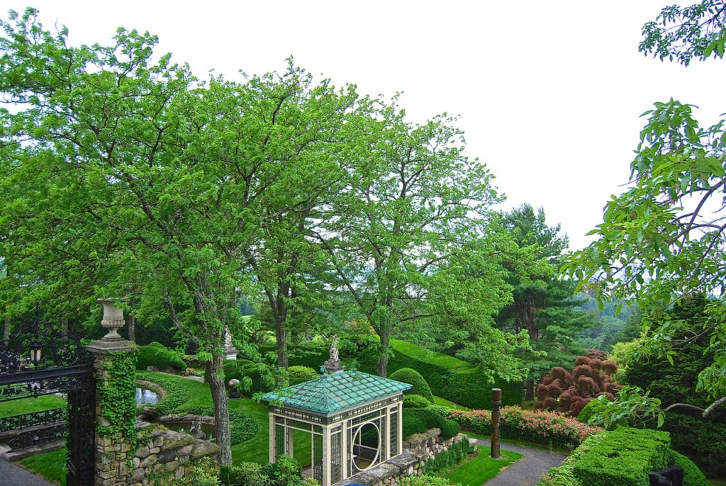 Gardens at Kykuit - photo: Angela Tiffin, History Buff Traveling Mom
