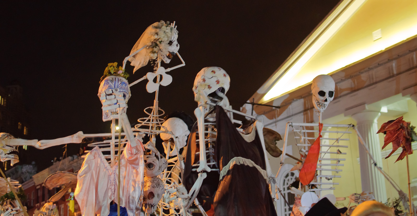 Free Thrills and Chills: Halloween  in New York City