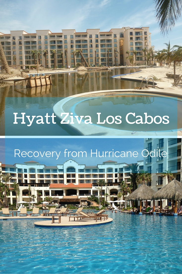 Hyatt Ziva Los Cabos Recovery from Hurricane Odile-Traveling Mom