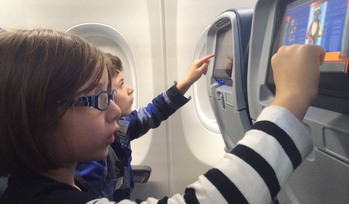 Plane Kindness to Those Traveling with Young Children