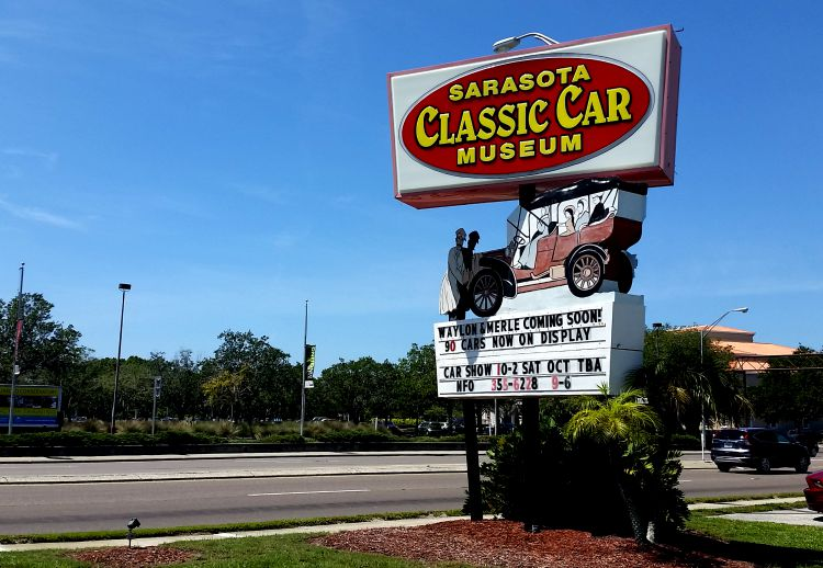 Sarasota Classic Car Museum. Photo Credit: Mary Moore / Retro TravelingMom