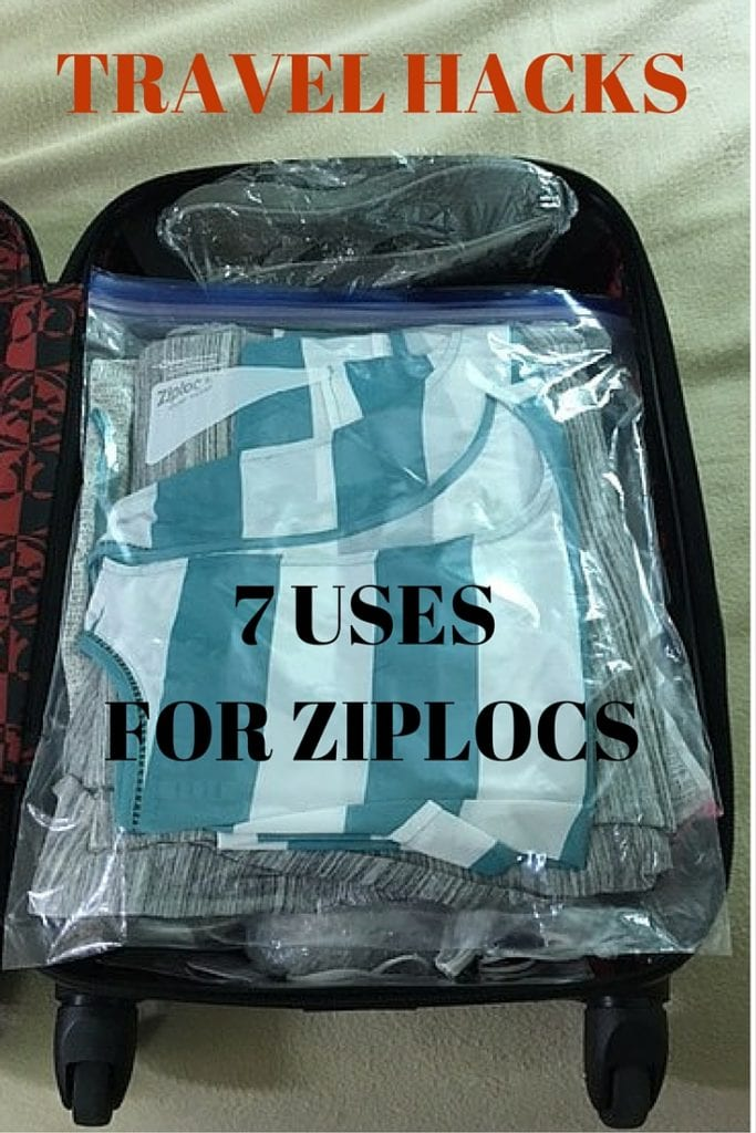 Travel Hacks - 7 Uses for Ziploc Bags