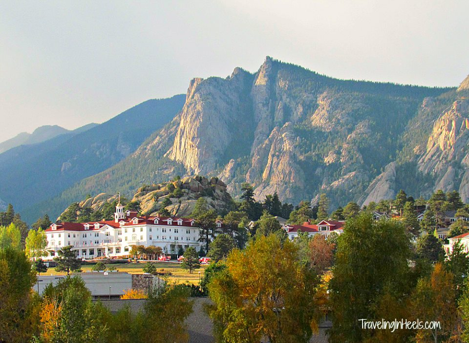 One of the most infamous haunted hotels is The Stanley Hotel in Estes Park, Colorado