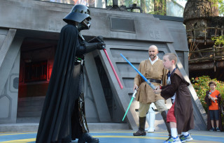 Travel to Star Wars locations for an immersive fan experience.