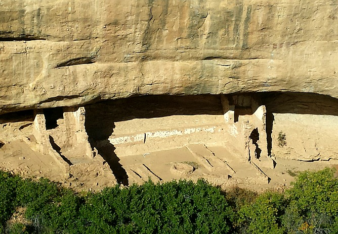 Sun Temple Amphitheatre at Mesa Verde National Park.