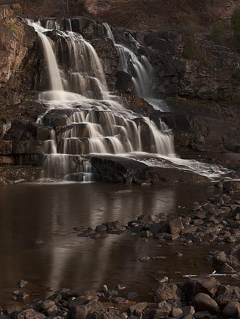 Gooseberry Falls State Park is one of the most visited of Minnesota state parks