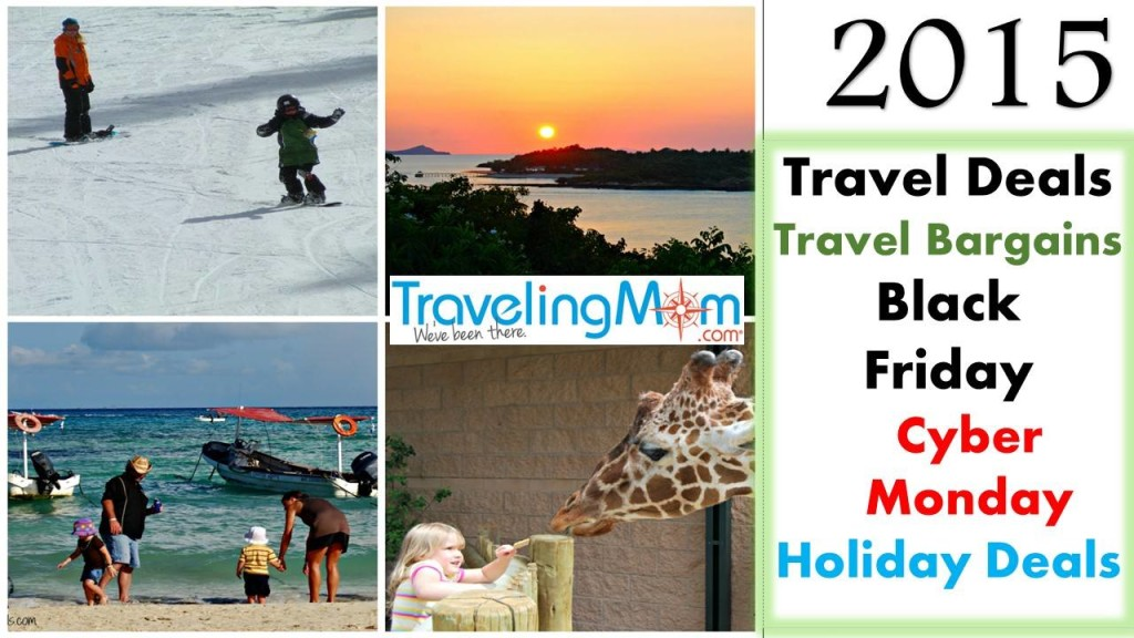 Time to hunt for travel bargains! Photo collage by Diana Rowe, Grandmom TMOM