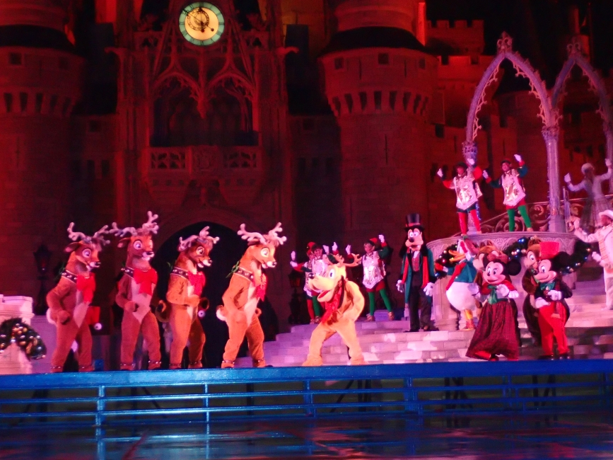 Celebrate the Season Show at Disney Christmas