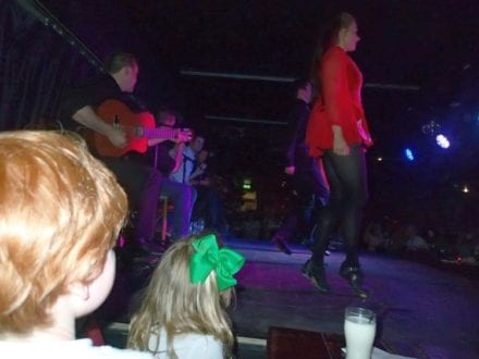 Irish Step Dancing at Celtic Nights Show, Dublin