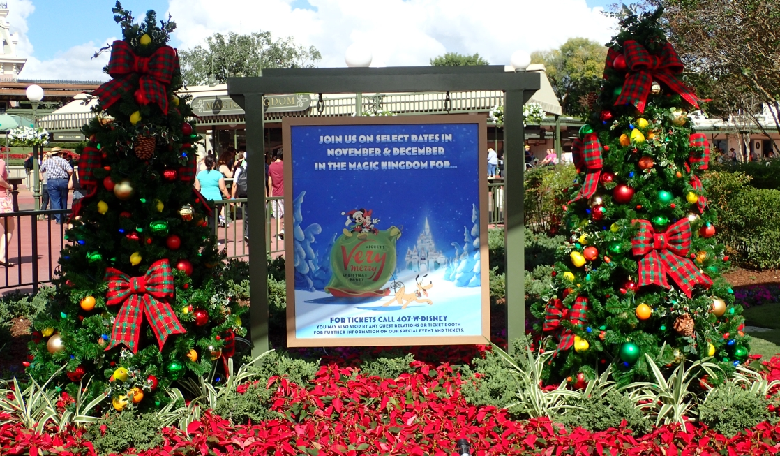 mickeys very merry christmas party poster - Disney Very Merry Christmas Tickets