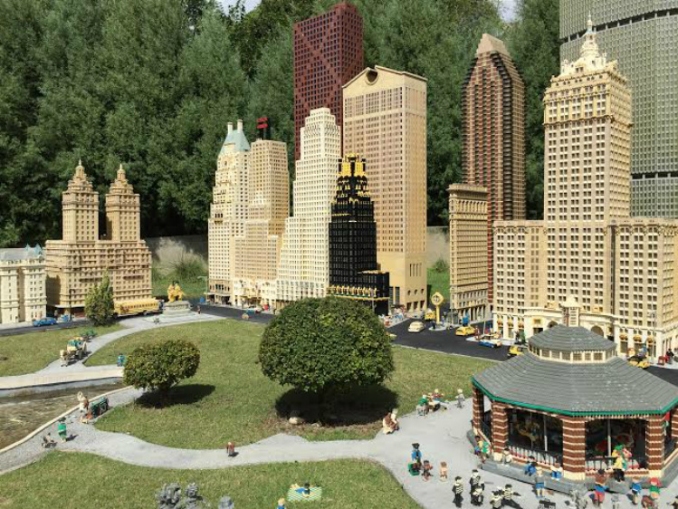 New York in LEGOLAND Cities Photo by Jennifer Acocella